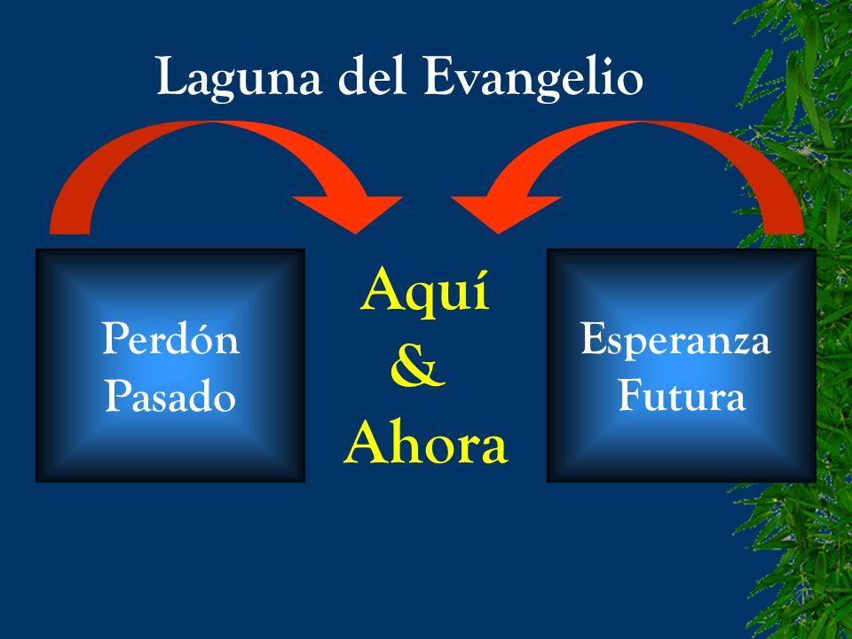 Laguna del Evangelio Perdón Pasado Esperanza Futura Aquí & Ahora