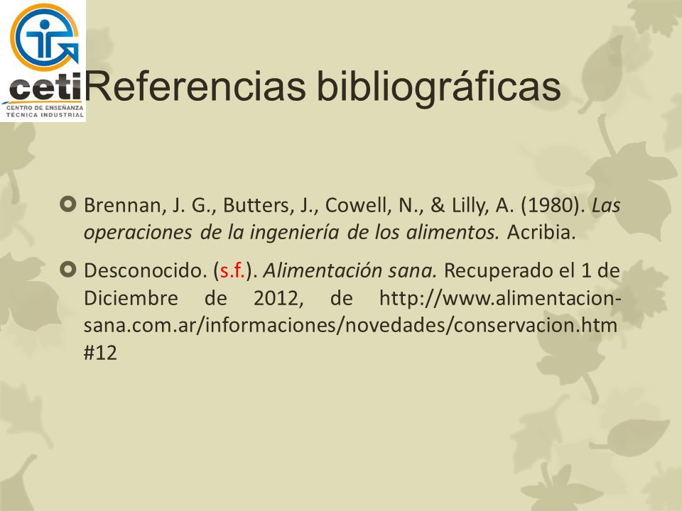 Referencias bibliográficas Brennan, J.G., Butters, J., Cowell, N., & Lilly, A.