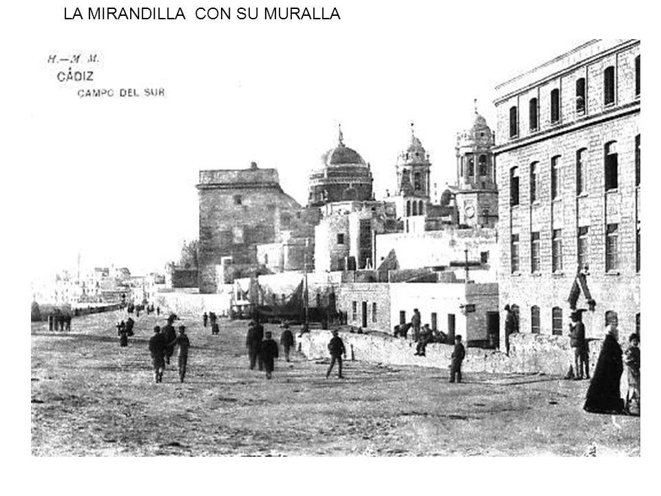 LA MIRANDILLA CON SU MURALLA