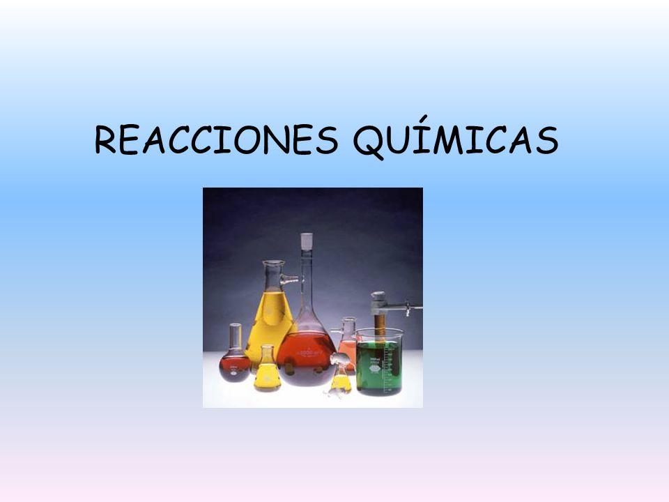 CONTENIDOS Reacciones químicas Leyes de la combinación química en reacciones químicas que dan origen a compuestos comunes Concepto de Mol Relaciones cuantitativas en diversas reacciones químicas Masa molar de los compuestos químicos Composición porcentual de las sustancias Determinación de fórmula empírica y fórmula molecular.