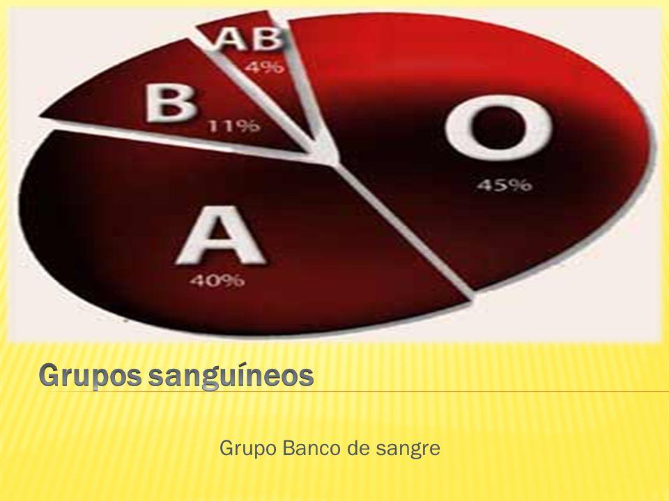 Grupo Banco de sangre