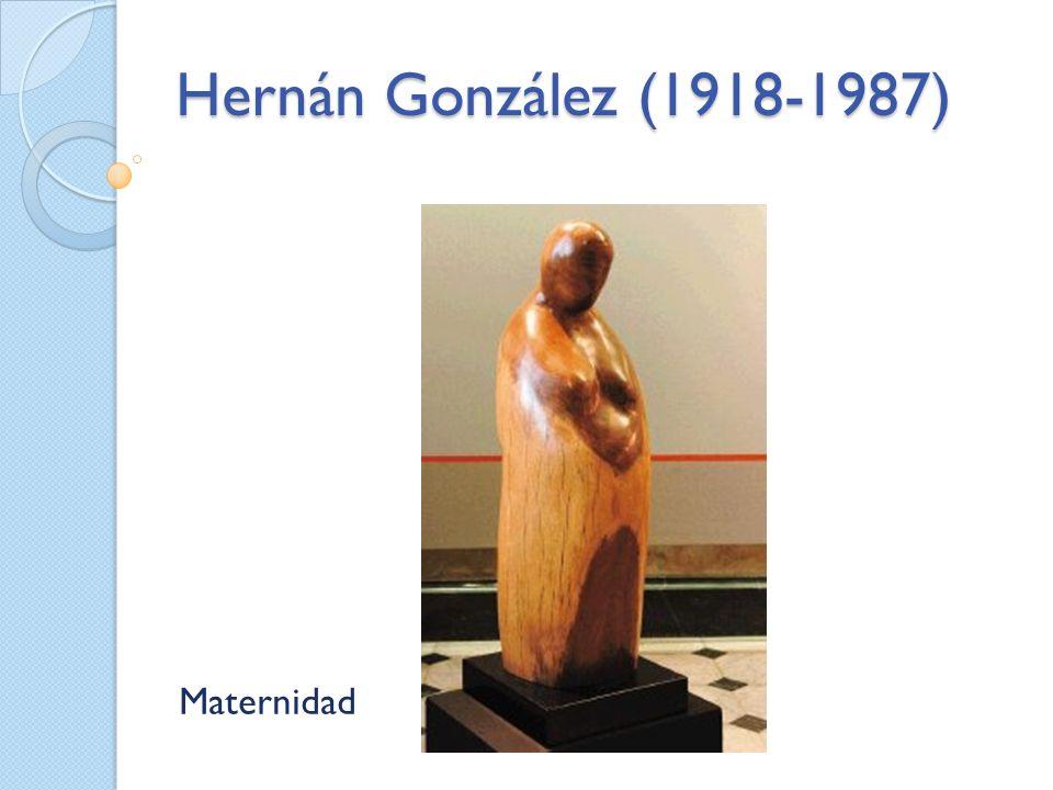 Hernán González (1918-1987) Maternidad