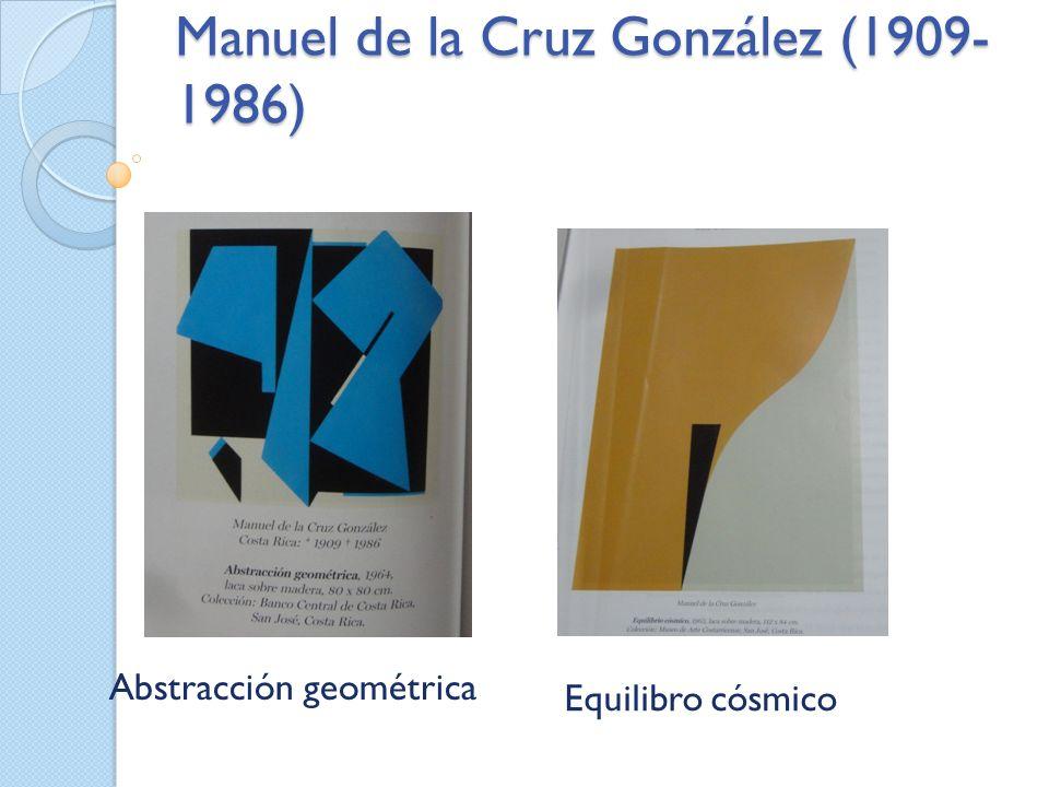 Manuel de la Cruz González (1909- 1986) Abstracción geométrica Equilibro cósmico