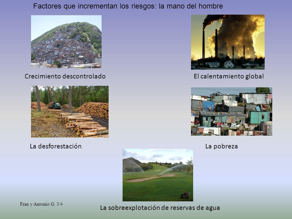 MEDIDAS DE PREDICCION Se basa en la predicción y el estudio de las laderas.