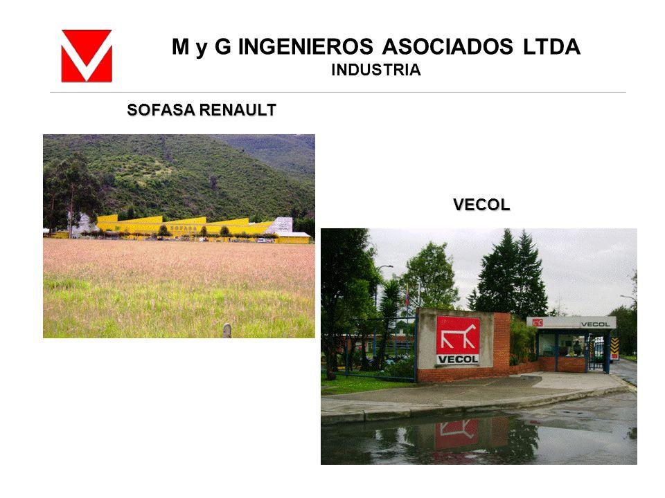 M y G INGENIEROS ASOCIADOS LTDA INDUSTRIA SOFASA RENAULT VECOL