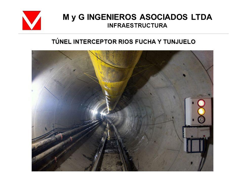 M y G INGENIEROS ASOCIADOS LTDA INFRAESTRUCTURA TÚNEL INTERCEPTOR RIOS FUCHA Y TUNJUELO