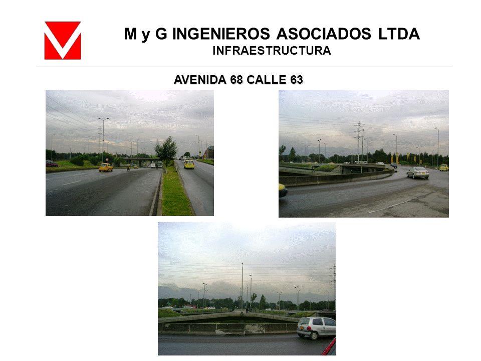 M y G INGENIEROS ASOCIADOS LTDA INFRAESTRUCTURA AVENIDA 68 CALLE 63