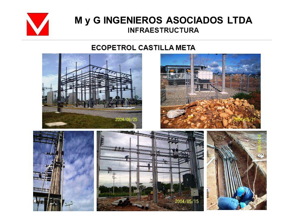 M y G INGENIEROS ASOCIADOS LTDA INFRAESTRUCTURA ECOPETROL CASTILLA META