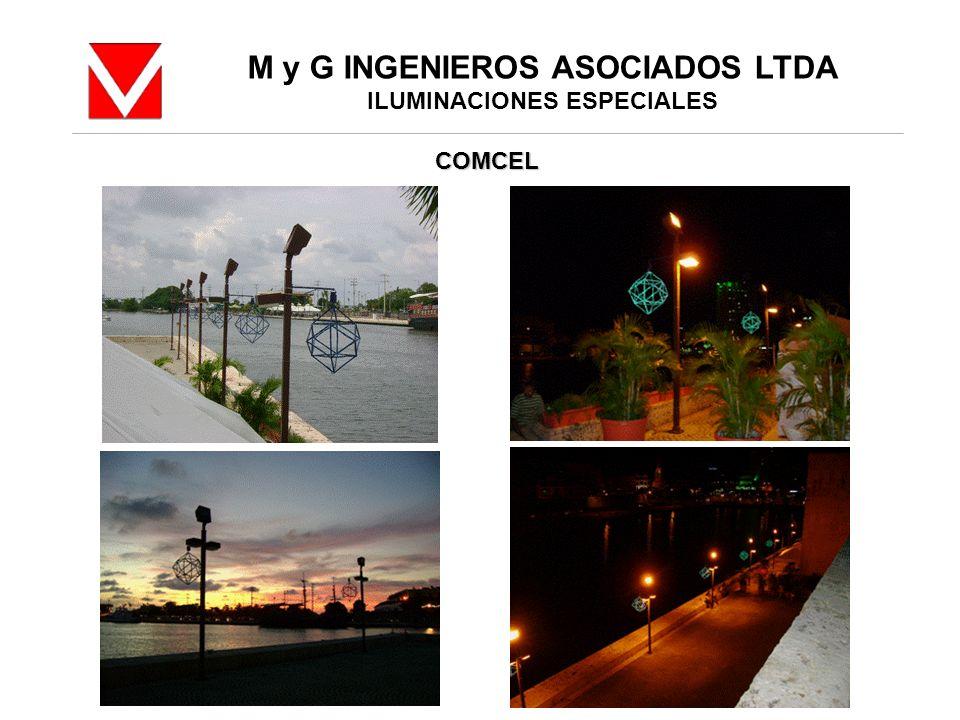 M y G INGENIEROS ASOCIADOS LTDA ILUMINACIONES ESPECIALES COMCEL