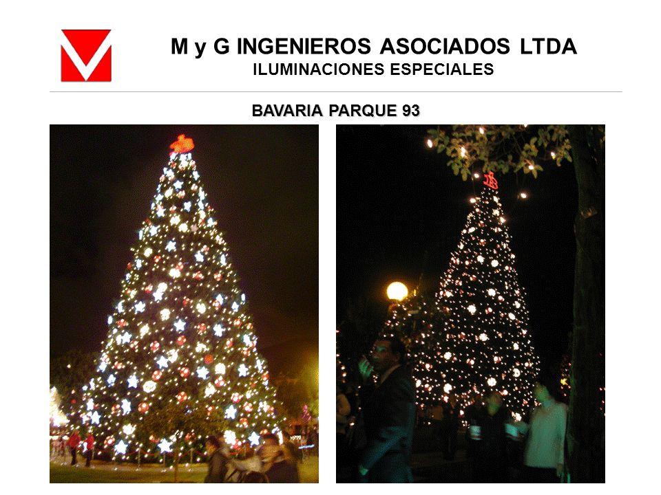 M y G INGENIEROS ASOCIADOS LTDA ILUMINACIONES ESPECIALES BAVARIA PARQUE 93