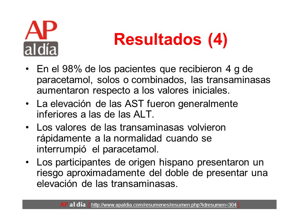 AP al día [ http://www.apaldia.com/resumenes/resumen.php?idresumen=304 ] Resultados (3)