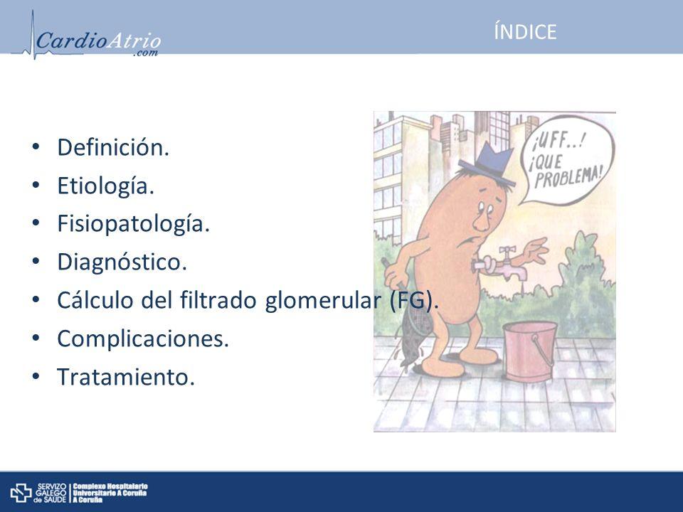 Definición.Etiología. Fisiopatología. Diagnóstico.