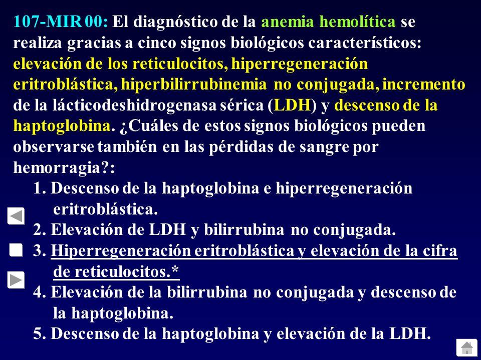 106-MIR 00: Las distintas variedades de leucemia aguda mieloblástica se tratan con quimioterapia, pero en una de sus formas se asocia al tratamiento e