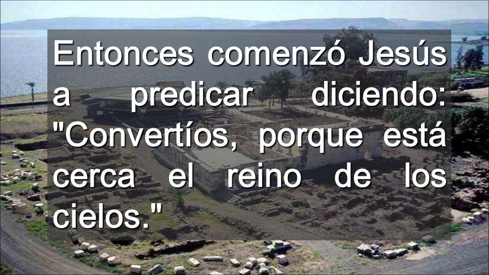 ¿De qué tener miedo? (Salmo) Jesús no trae confort, sino Luz para vivir con pocas cosas Lago de Galilea