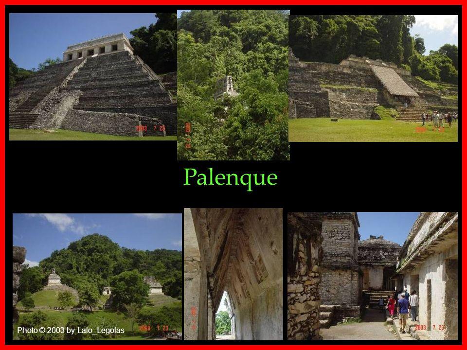 Palenque Photo © 2001 B_Carbajal