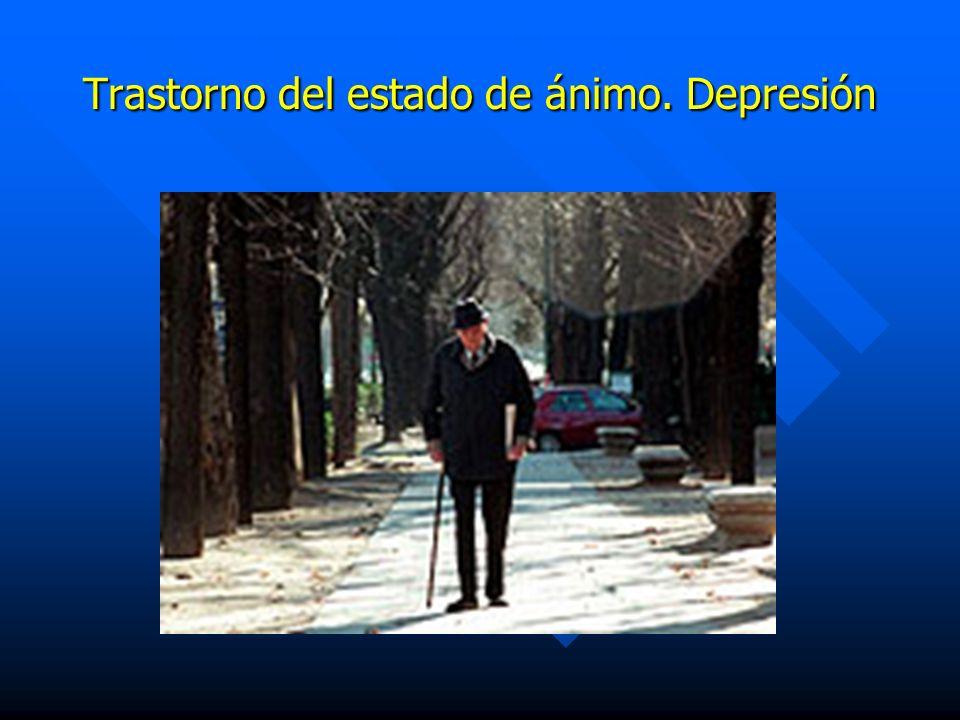 Trastorno del estado de ánimo. Depresión