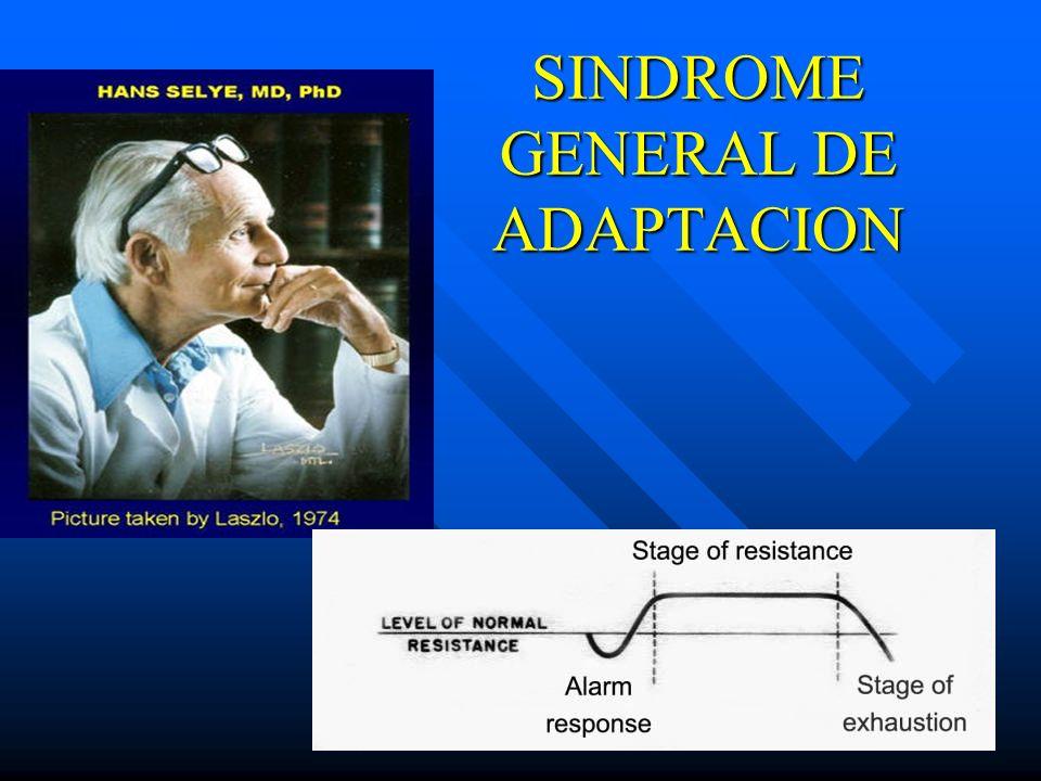 SINDROME GENERAL DE ADAPTACION