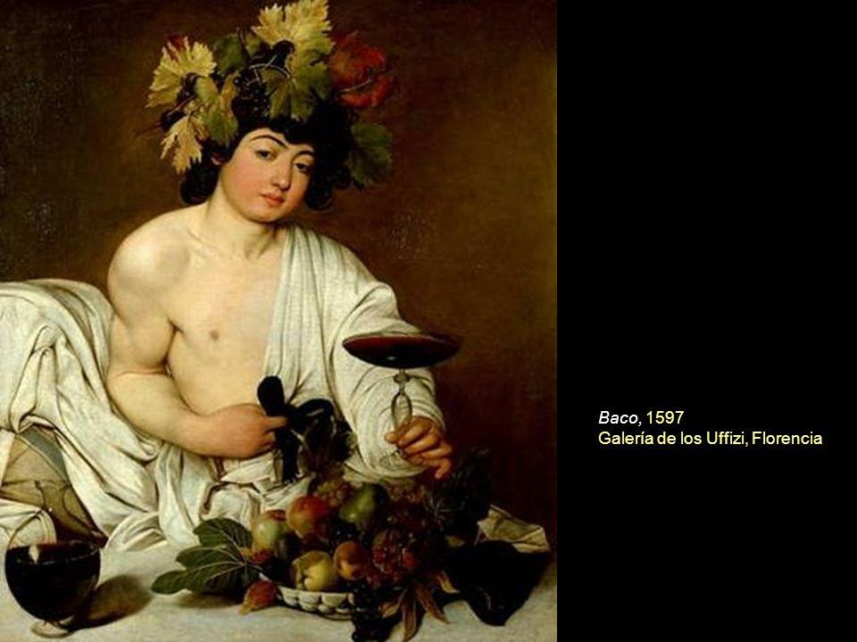 La Muestra ofrece tres versiones distintas del San Juan Bautista (Museos Capitolinos y galería Corsini de Roma, y Nelson Atkins de Kansas, Estados Unidos) y dos de la Cena en Emmaus (National Gallery de Londres y Pinacoteca de Brera).