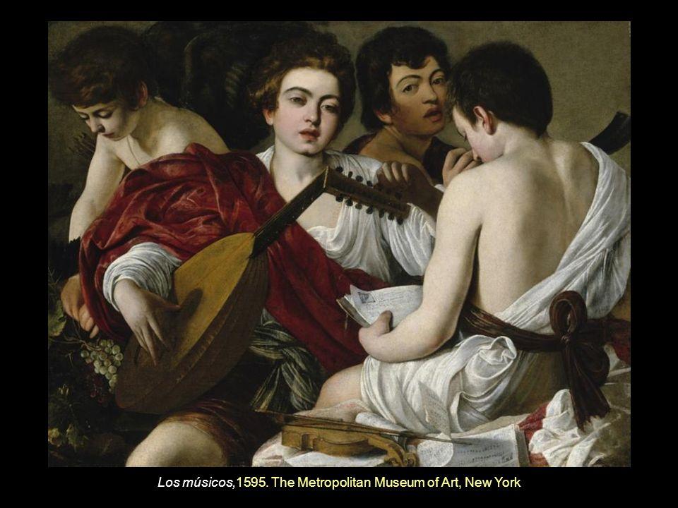 Entierro de Cristo, 1602-1603 Museo Vaticano. Ciudad del Vaticano