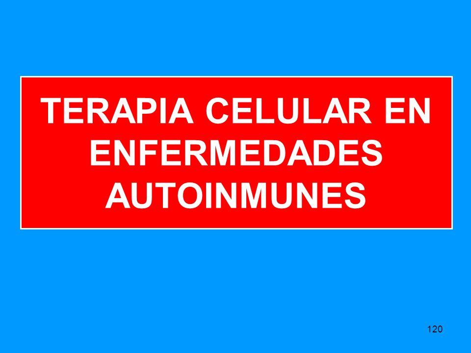 TERAPIA CELULAR EN ENFERMEDADES AUTOINMUNES 120