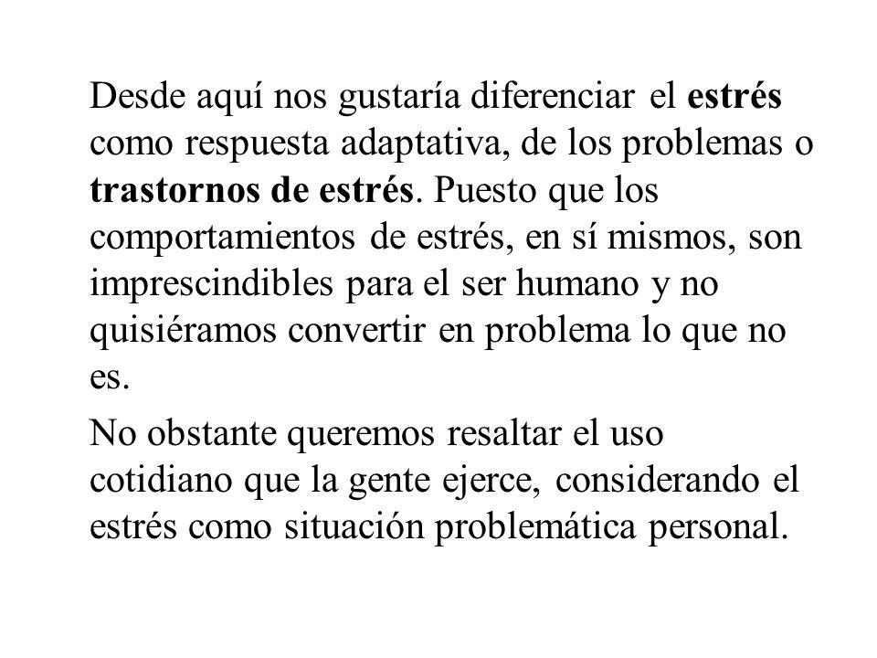 CONCLUSIONES Aún valorando esta definición, admitiendo la relevancia de la idea de relación con el entorno y de los factores cognitivos en el tratamie