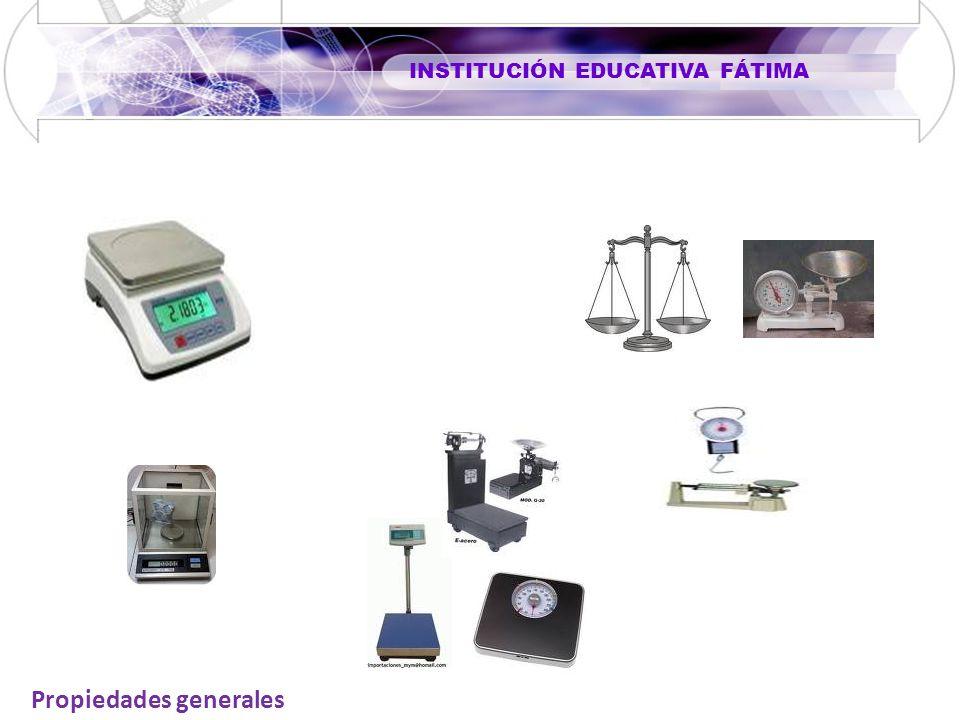 INSTITUCIÓN EDUCATIVA FÁTIMA Propiedades generales