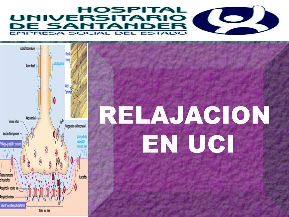 RELAJACION EN UCI H+H+ H+H+