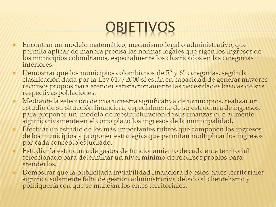 La Constitución Política de Colombia consagra en su artículo 1° Colombia es un estado social de derecho (C.N.1991) y, en su artículo 2°, consagra como fines esenciales del Estado: Servir a la comunidad, promover la prosperidad general y garantizar la efectividad de los principios, derechos y deberes consagrados en la Constitución; facilitar la participación de todos en las decisiones que los afectan y en la vida económica, política, administrativa y cultural de la Nación, defender la independencia nacional, mantener la integridad territorial y asegurar la convivencia pacífica y la vigencia de un orden justo.