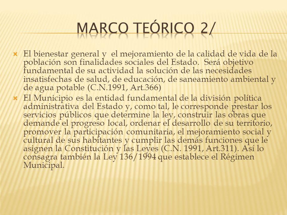 El municipio como institución política y administrativa tiene importancia universal y es considerado básico en el concepto de organización social (Torres, H.