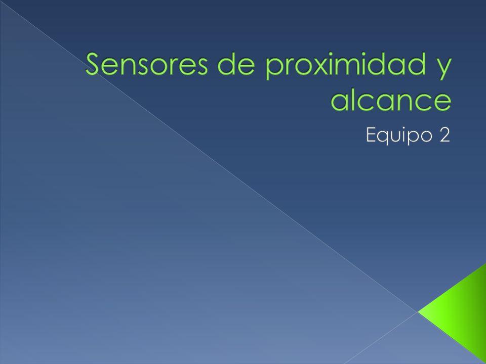El sensor de proximidad es un transductor que detecta objetos o señales que se encuentran cerca del elemento sensor.