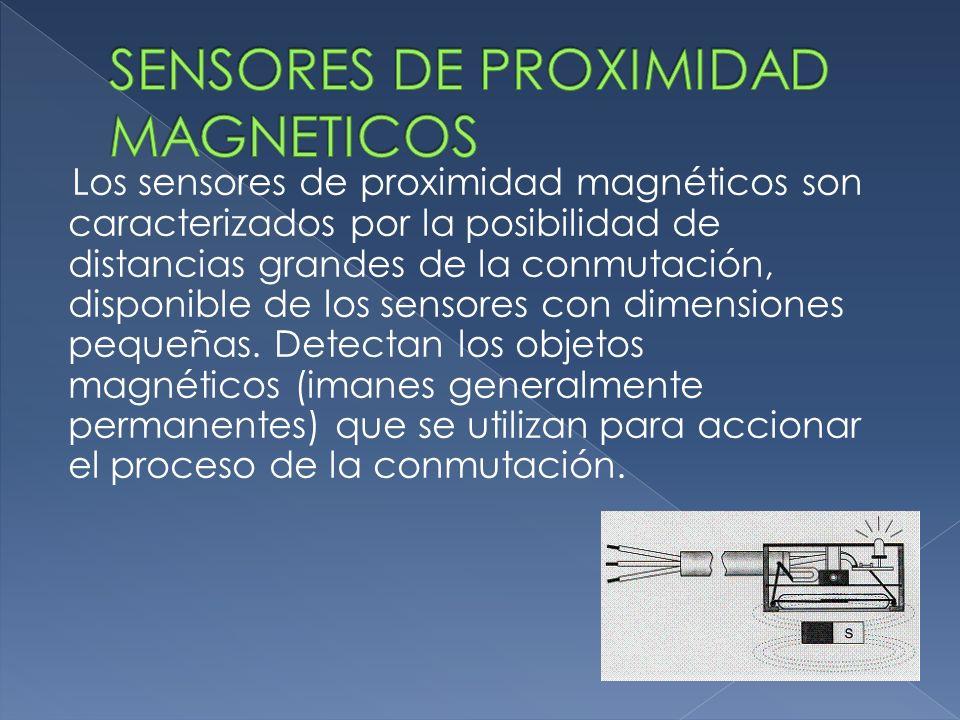 Los sensores de proximidad magnéticos son caracterizados por la posibilidad de distancias grandes de la conmutación, disponible de los sensores con di