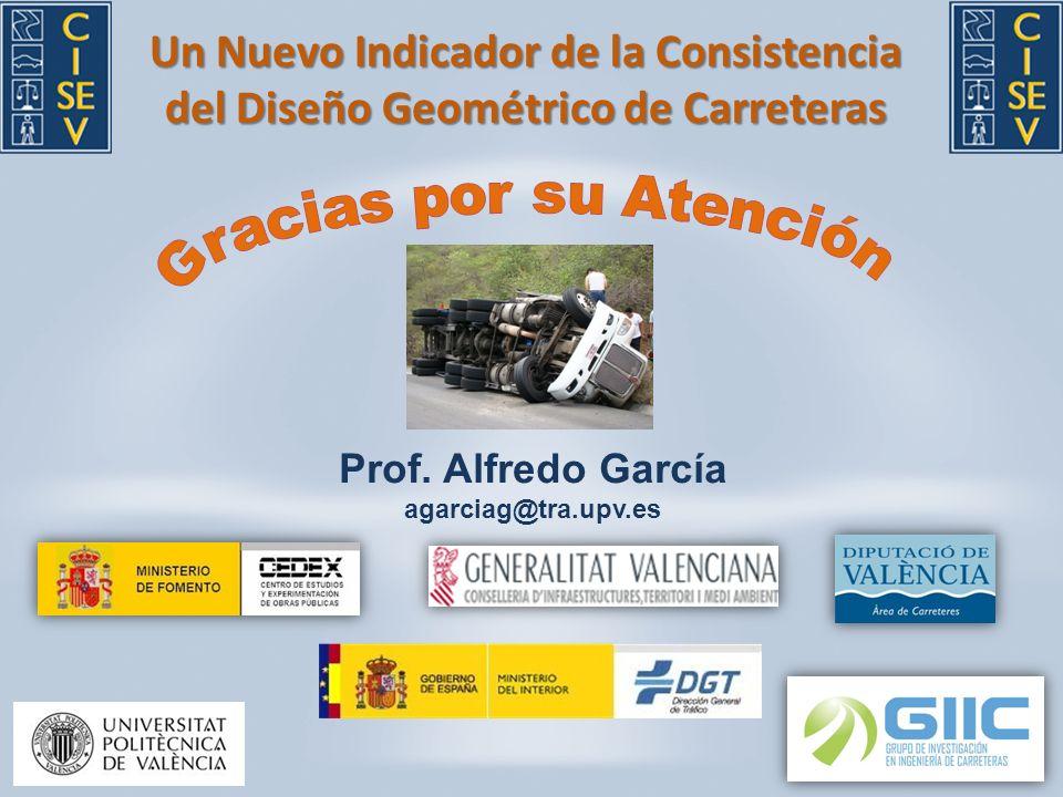 Un Nuevo Indicador de la Consistencia del Diseño Geométrico de Carreteras Prof.