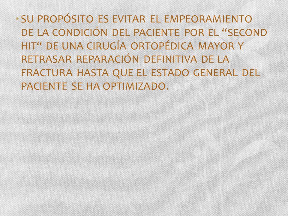 HISTORIA 1940 - 1950 ARNOLD GRISWOLD CIRUGÍA DE CONTROL DE DAÑOS EN ABDOMEN 1981 - FELICIANO EMPAQUETAMIENTO HEPÁTICO 1983 – STONE LAPAROTOMÍA RÁPIDA 1990 SECOND HIT EFECTOS SISTÉMICOS DE LA CIRUGÍA EN FRACTURAS