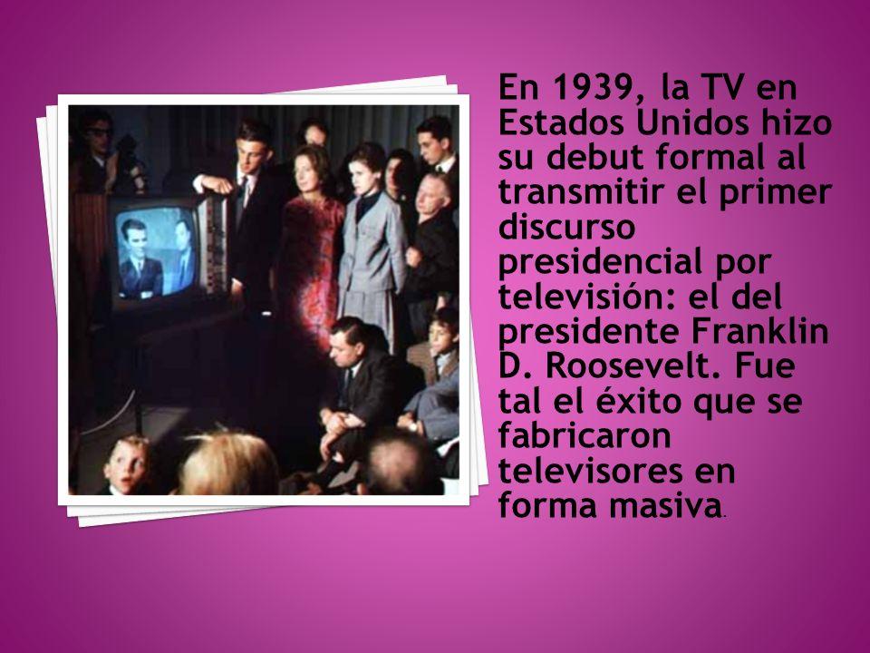 En 1946, Peter Goldmark, húngaro nacionalizado estadounidense, inventó la televisión a color.