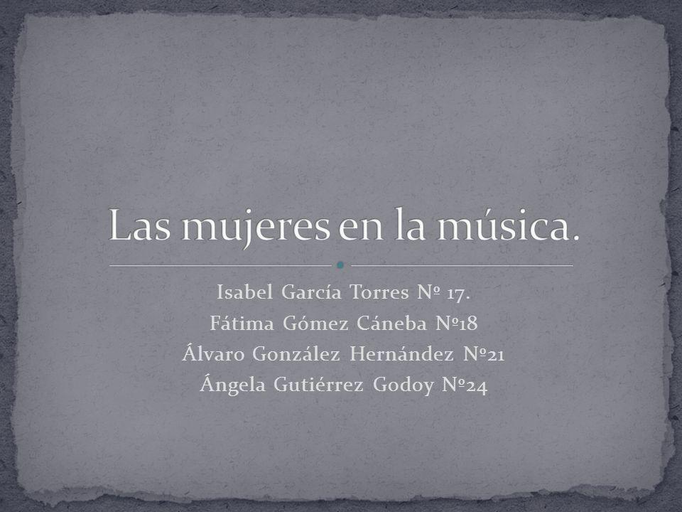 Isabel García Torres Nº 17.