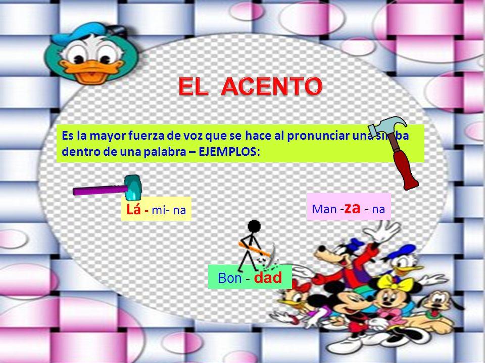 Identifica las reglas básicas de acentuación de las palabras Reconoce las palabras agudas, graves, esdrújulas y sobreesdrújulas en los textos escritos