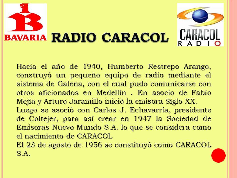 En 1988-89 Caracol compra la cadena Acción Cultural Popular, vinculada a la Iglesia Católica y con ella llega a controlar en 1991, 144 emisoras: 73 propias y 71 de propietarios afiliados.
