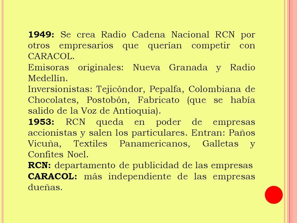 El fundador de la Organización Ardila Lülle(OAL) se inició en el campo de los medios con la adquisición en 1973 de Radio Cadena Nacional (RCN) y tres años después entró en el medio de la televisión alcanzando una licencia de emisor privado en 1998 (RCN TV).