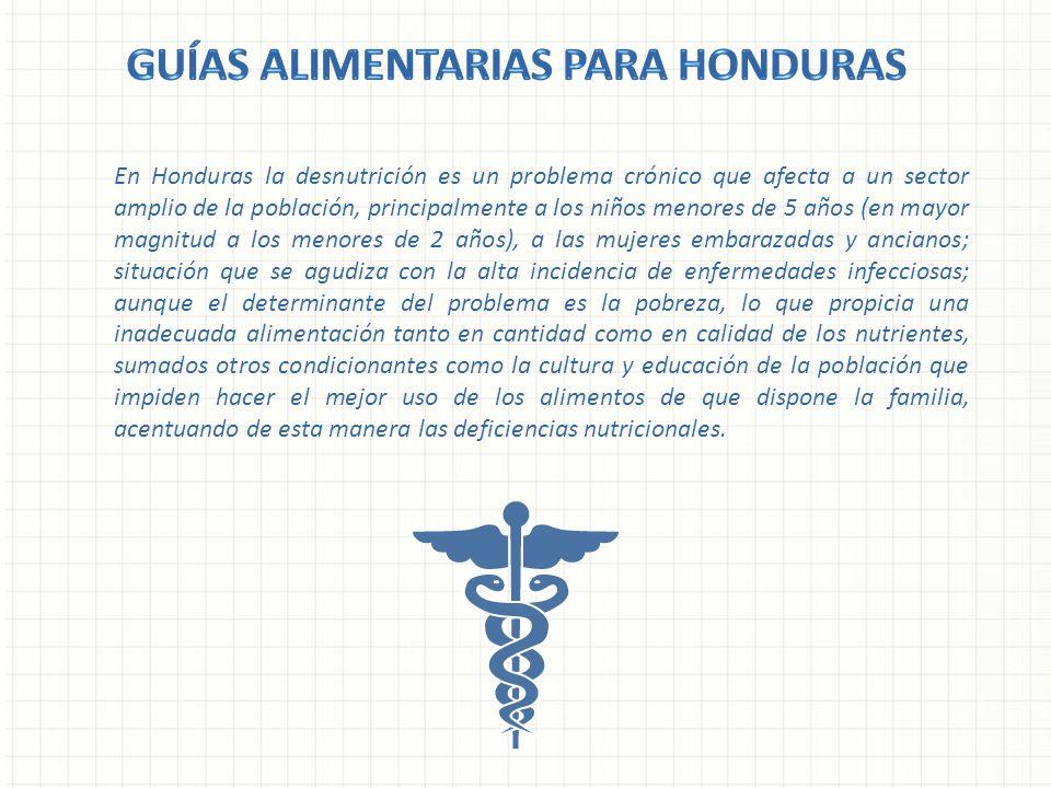 En Honduras la desnutrición es un problema crónico que afecta a un sector amplio de la población, principalmente a los niños menores de 5 años (en may
