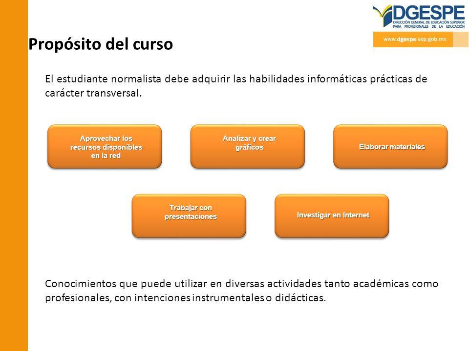 Competencias profesionales a las que contribuye el curso.