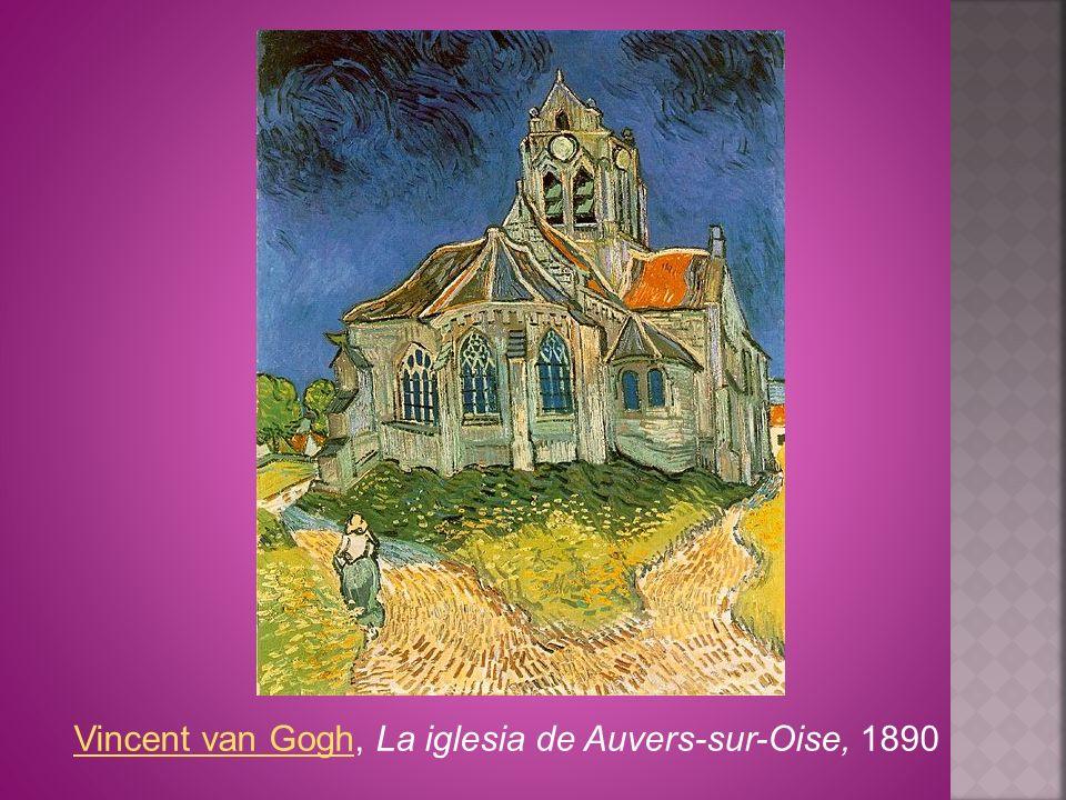 Vincent van GoghVincent van Gogh, La iglesia de Auvers-sur-Oise, 1890