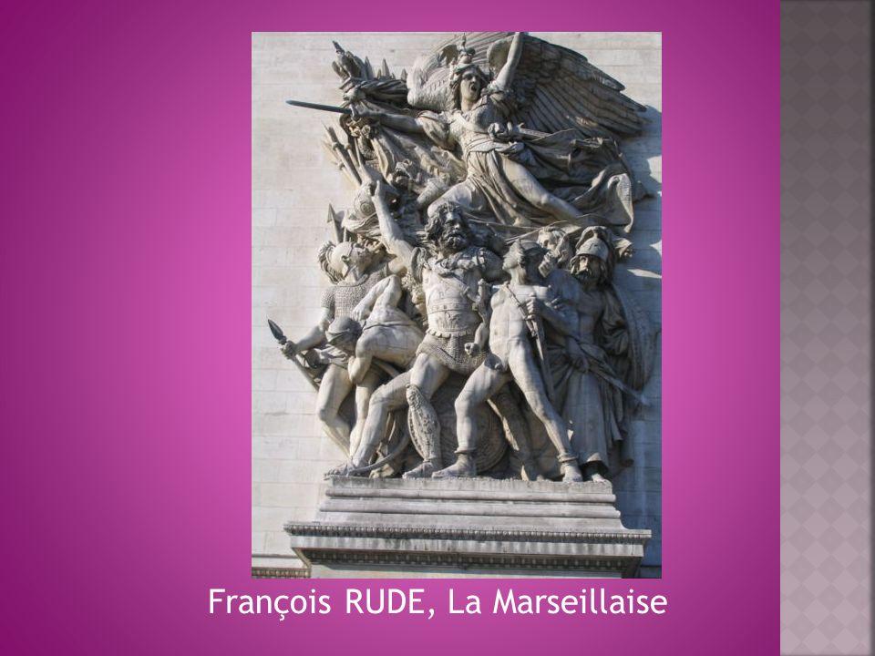 François RUDE, La Marseillaise