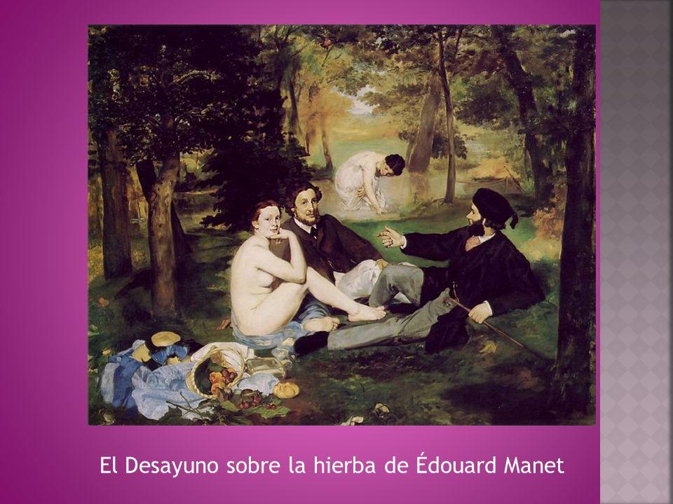 El Desayuno sobre la hierba de Édouard Manet