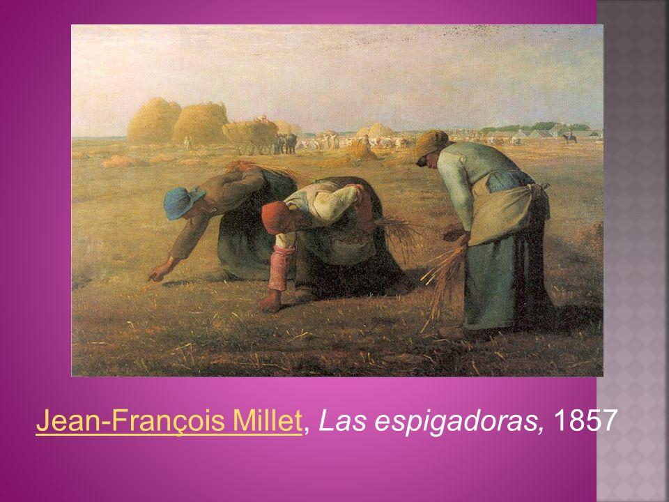 Jean-François MilletJean-François Millet, Las espigadoras, 1857