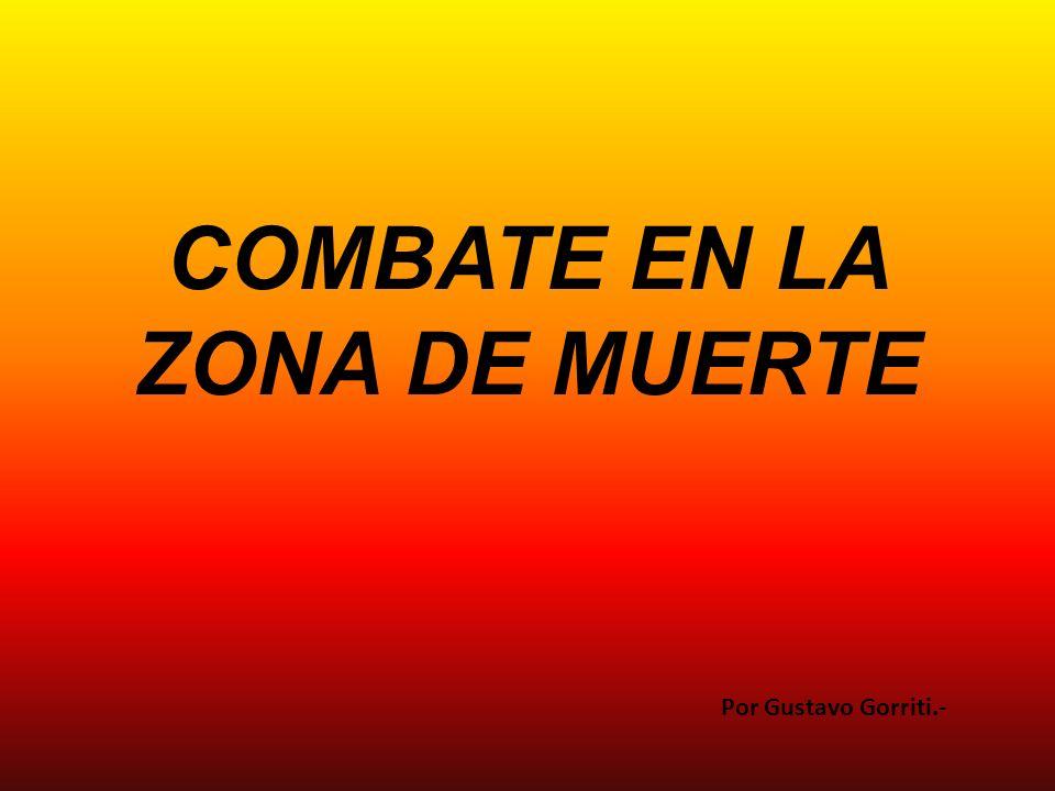 Mientras su promo (compañero de promoción) Cruz lo cubría con fuego de fusil Cárdenas rampó (se arrastró) hacia donde estaban los primeros heridos.