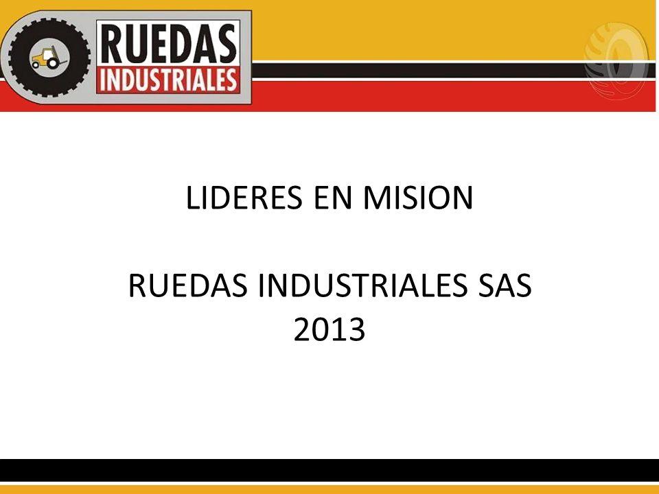 LIDERES EN MISION RUEDAS INDUSTRIALES SAS 2013