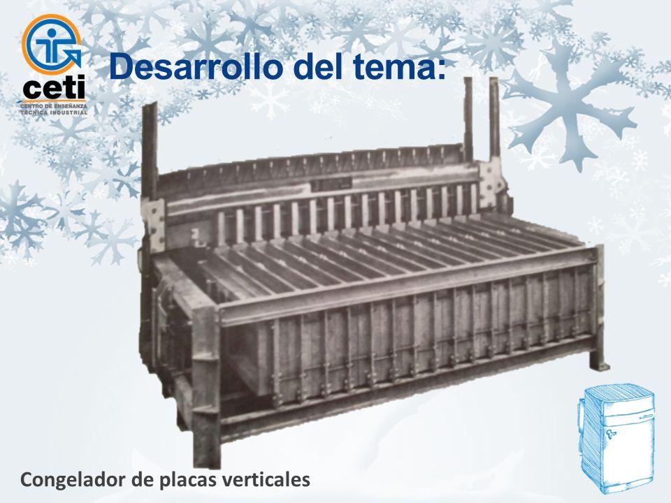 Congelador de placas verticales Desarrollo del tema: