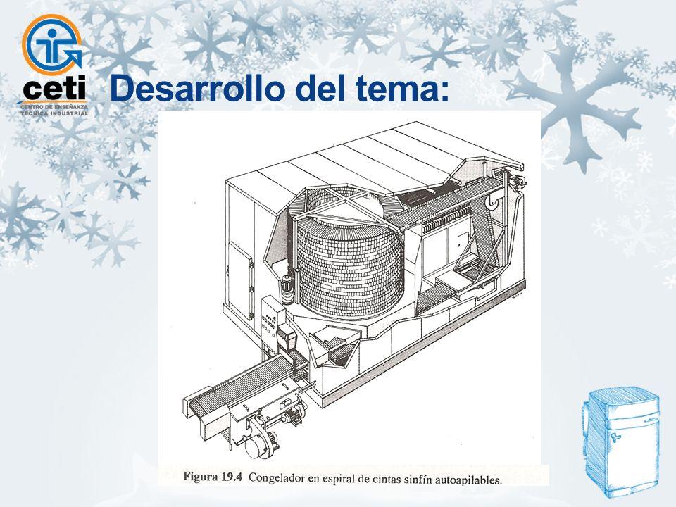 Sistema de congelación criogénico.