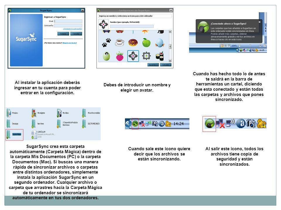 Al instalar la aplicación deberás ingresar en tu cuenta para poder entrar en la configuración.