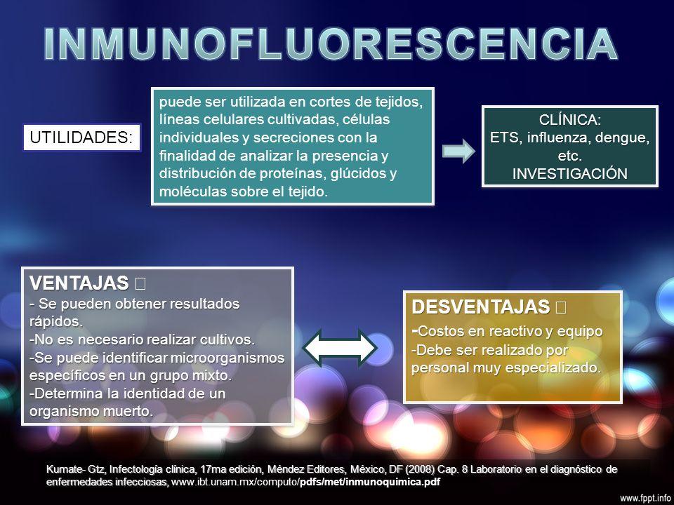 UTILIDADES: CLÍNICA: ETS, influenza, dengue, etc.
